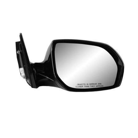 65029Y - Fit System Passenger Side Mirror for 13-16 Hyundai Santa Fe, black w/ PTM cover, foldaway, does not apply to Sport Models, (2013 Hyundai Santa Fe Sport 2-0 T Reliability)