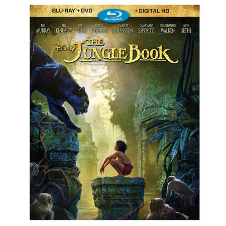 Kidsline Jungle (The Jungle Book (2016) (Blu-ray + DVD + Digital)