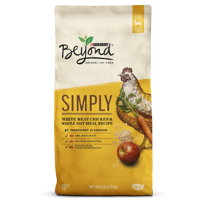 Purina Beyond Simply White Meat Chicken & Whole Oat Meal Recipe Adult Dry Cat Food - 6 lb. Bag