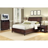 Home Styles Lafayette King/California King Sleigh Headboard, Rich Cherry