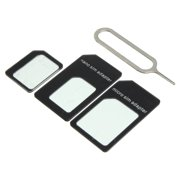 UbiGear New Smart Phone Nano SIM Convert Card to Micro /Stander/ Full SIM Card
