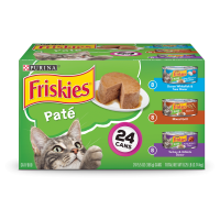 Friskies Pate Adult Wet Cat Food Variety Pack - (24) 5.5 oz. Cans