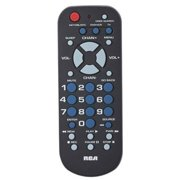 Universal Remote Control Palm Size For Tv Dvd Vcr Satellite Receiver Cable Box Digital Converter Easy