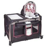 Baby Trend Go-Lite ELX Nursery Center Playard, Rose Gold