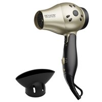 Revlon Perfect Heat® Travel Size RVDR5005 Ceramic Hair Dryer, with Concentrator