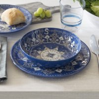 Better Homes & Gardens 12-Piece Melamine Dinnerware Set