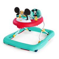 Disney Baby Mickey Mouse Happy Triangles Walker with Wheels and Activity Center
