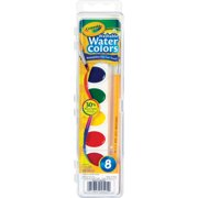 Crayola Watercolor Paint, Kid's Painting Supplies, 8 Count