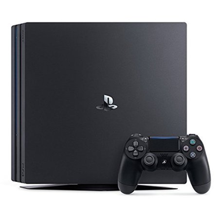 Sony Playstation 4 Pro 1tb Gaming Console Black Cuh 7115 Walmart Com