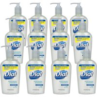 Dial, DIA82834, Sensitive Skin Liquid Hand Soap, 12 / Carton, Clear, 7.5 fl oz (221.8 mL)