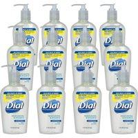Dial, DIA82834, Sensitive Skin Liquid Hand Soap, 12 / Carton, Clear, 7.5 fl oz (221.8 mL)