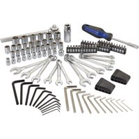 Hyper Tough 113-Piece 1/4-Inch and 3/8-Inch Mechanics Tool Set