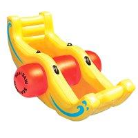 New Swimline 9058 Swimming Pool Inflatable Sea-Saw Rocker See-Saw Float Lounge