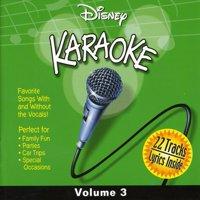 Disney Karaoke Volume 3 (CD)