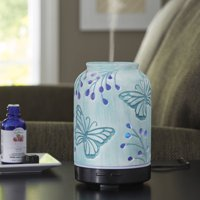 Better Homes & Gardens 100 ml Essential Oil Diffuser, Tranquil Butterfly