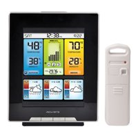 Acurite 02007 Color Weather Station with Morning, Noon & Night Forecast