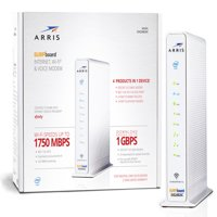ARRIS SURFboard SVG2482AC (24x8) Cable Modem Router & Voice, DOCSIS 3.0   AC1750 Dual-Band   Certified for XFINITY and XFINITY Telephone Only