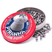 Crosman Piranha Premier Hollow Point Pellets, 14.3 Grain, .22 Cal, 400ct