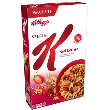 Kellogg's Special K Red Berries Breakfast Cereal Value Size 16.9 Oz (1982 Cereal)