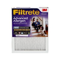 Filtrete 16x25x1, Healthy Living Advanced Allergen Reduction HVAC Furnace Air Filter, 1500 MPR, 1 Filter