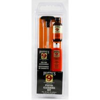 Hoppes Pistol Cleaning Kit with Aluminum Rod, .38/.357/9mm Caliber