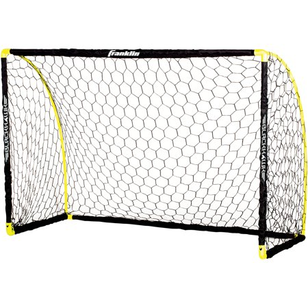 Action Soccer Goal - Franklin Sports 6' x 4' Insta-Set Portable Soccer Goal