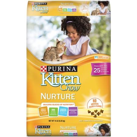 Purina Kitten Chow Dry Kitten Food, Nurture - 14 lb.