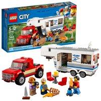 LEGO City Great Vehicles Pickup & Caravan 60182 (344 Pieces)