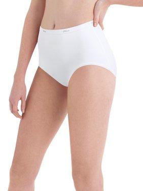 Women's Cotton Brief Panties - 6+2 Bonus Pack