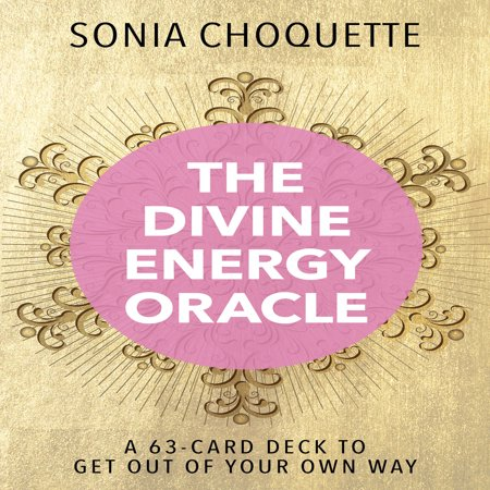 The Divine Energy Oracle : A 63-Card Deck to Get Out of Your Own (Best Present To Get Your Boyfriend For His Birthday)