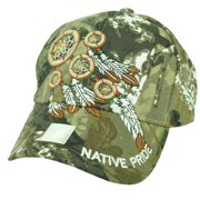 Native Indian American Pride Dream Catchers Feather Camouflage Camo Hat Cap 64e1b978034
