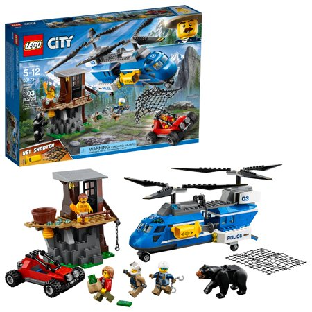 LEGO City Mountain Arrest 60173 Building Set (303 Pieces)