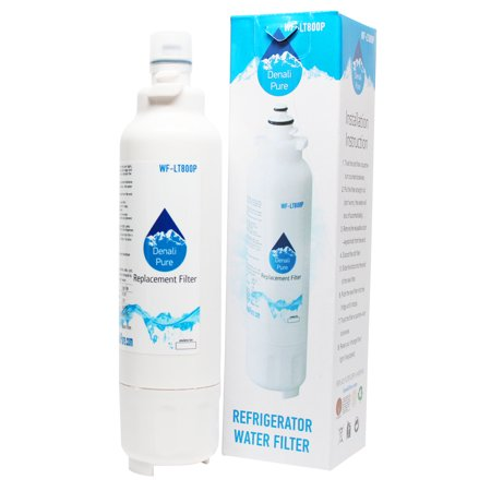 Replacement LG ADQ73613401 Refrigerator Water Filter - Compatible LG LT800P, ADQ73613401 Fridge Water Filter
