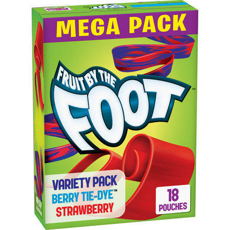 Fruit By The Foot Fruit Flavored Snacks Berry/Strawberry 18 ct 13.5 oz
