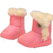 817619c07074c Fashion Winter Baby Girls Child Snow Boots Warm shoes