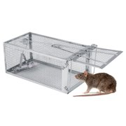 3c70737e54c 26.2*14*11.4cm Live Animal Humane Trap Catch and Release Rats Mouse Rodent
