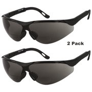 5b57a879b5 2 PAIR LOT Bifocal Safety Reading Sunglasses Glasses Reader ANSI Z87.1 Men  Women