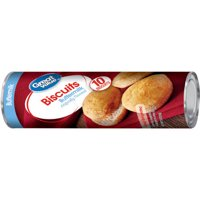 Great Value Buttermilk Biscuits, 7.5 Oz., 10 Count