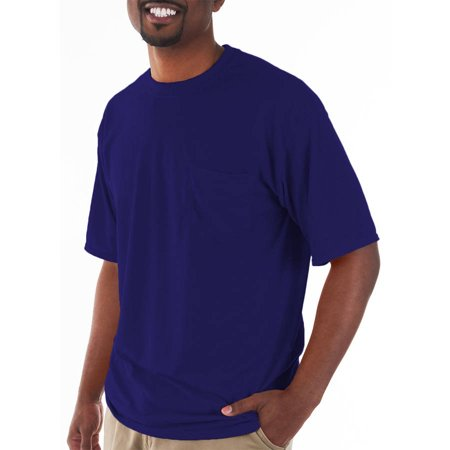 Gildan Mens classic short sleeve t-shirt with - Faconnable Classic Fit Shirt