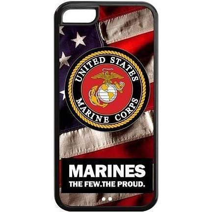Ganma US Marine Corps Case For iPhone 6 / 6s (4.7 INCH), Case U.S. Marines Army Cases Cover USMC Black at NewOne (Us Army Iphone 4 Case)