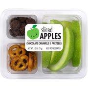 Reichel Foods Sliced Apples, Chocolate Caramels & Pretzels, 2.5 oz