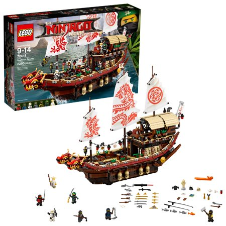 LEGO Ninjago Movie Destiny's Bounty 70618 (2,295 Pieces)