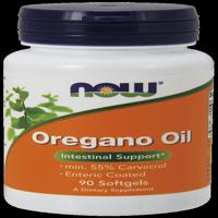 NOW Oregano Oil Enteric Softgels, 90 Ct