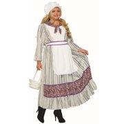 bf81fa256 Womens Curvy Pioneer Woman Halloween Costume