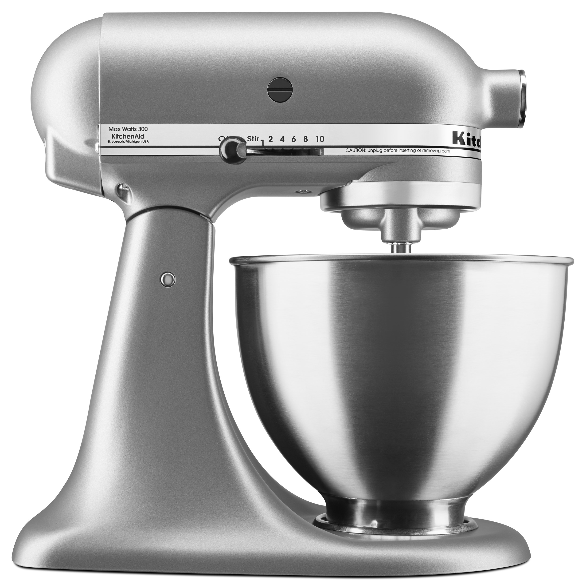 Kitchenaid 4 5 Quart Deluxe Mixer Silver With