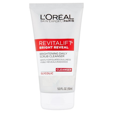 L'Oreal Paris Skin Expert Revitalift Bright Reveal Glycolic Cleanser, 5.0 fl