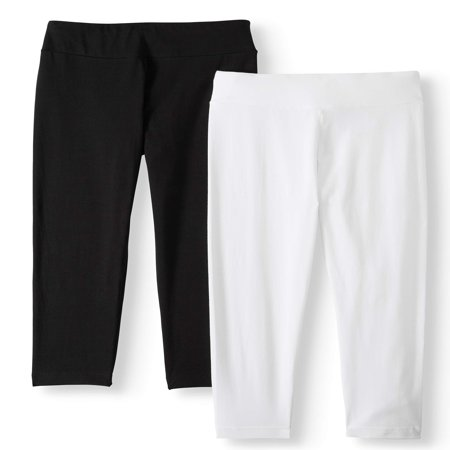 Women's Capri Leggings - 2 (Pu Women Leggings)