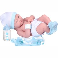 """My sweet love 14"""" newborn boy baby doll with accessories and id bracelet"""