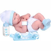 "My sweet love 14"" newborn boy baby doll with accessories and id bracelet"