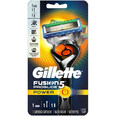 - Gillette Fusion5 ProGlide Power Men's Razor, Handle & 1 Blade Refill